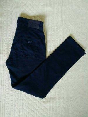 Armani Jeans Slim jeans donkerblauw Katoen