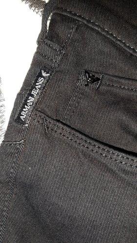 Armani Jeans Pantalone a sigaretta nero