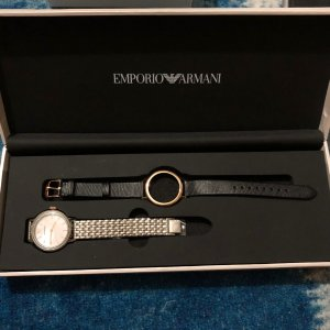 Armani Analog Watch multicolored