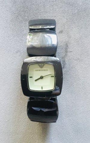 Armani Watch Clasp black
