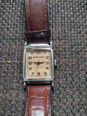 Emporio Armani Zegarek automatyczny brąz Metal