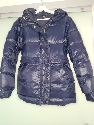 Armani Exchange Down Jacket dark blue