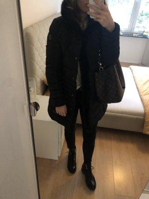 Armani Jeans Manteau en duvet noir