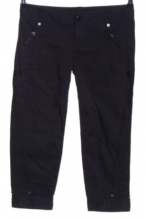 Armani Exchange 3/4 Length Trousers black casual look