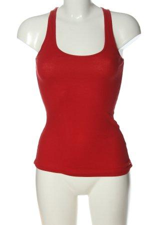 Armani Exchange Basic topje rood casual uitstraling