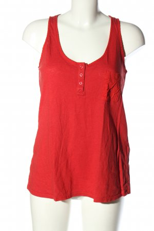 Armani Exchange Basic Top red casual look