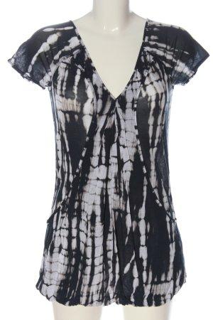 Armani Exchange Top batik imprimé allover style décontracté