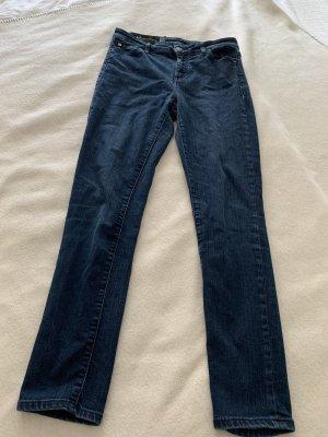AX ARMANI EXCHANGE High Waist Jeans blue denim