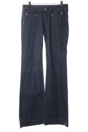 Armani Exchange Boot Cut Jeans blau Street-Fashion-Look