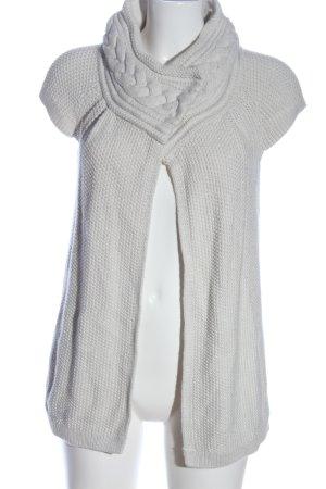 Armani Exchange Cardigan gris clair torsades style décontracté