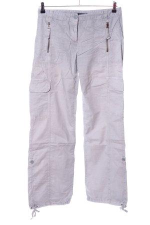 Armani Exchange Pantalon cargo gris clair style décontracté