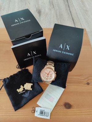 AX ARMANI EXCHANGE Reloj con pulsera metálica color oro