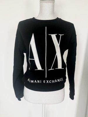 Armani Exchange Gr. XS Sweatshirt Schwarz Pullover