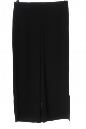Armani Exchange Spodnie z wysokim stanem czarny W stylu casual