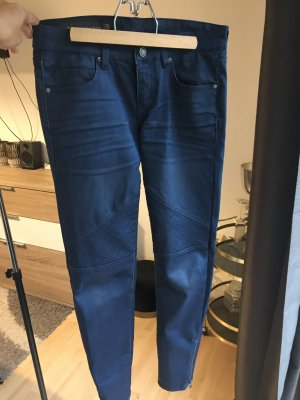 Armani Exchange Tube Jeans dark blue