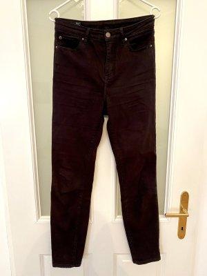 Armani Exchange Pantalon taille haute noir