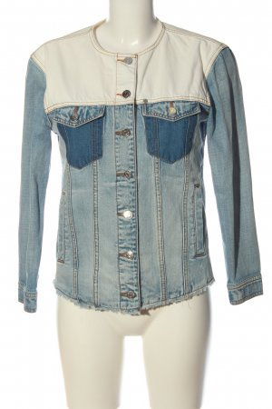 Armani Exchange Denim Jacket blue-cream casual look