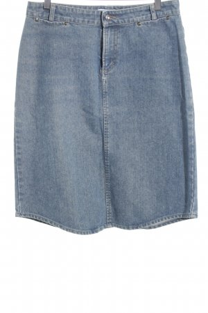 Armani Exchange Denim Skirt blue casual look