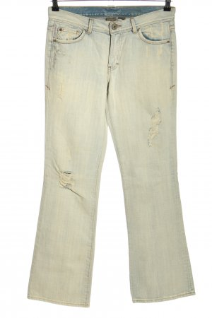 Armani Exchange Denim Flares light grey casual look
