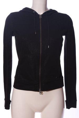 Armani Exchange Kapuzensweatshirt schwarz Casual-Look
