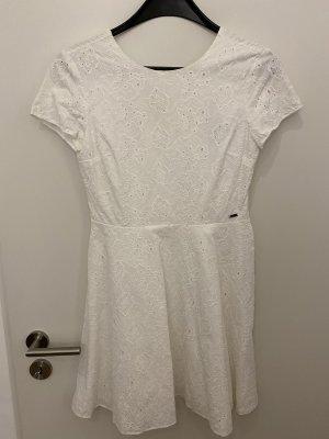 AX ARMANI EXCHANGE Cocktail Dress white cotton