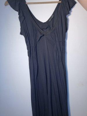 Armani Exchange Robe à manches courtes brun foncé