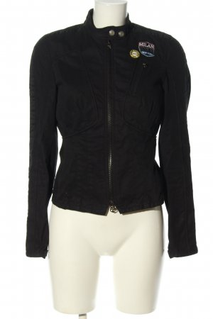 Armani Exchange Short Jacket black casual look