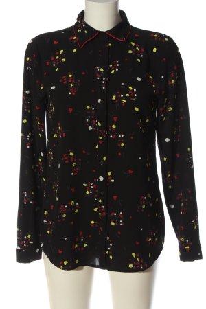 Armani Exchange Shirt met lange mouwen abstract patroon casual uitstraling
