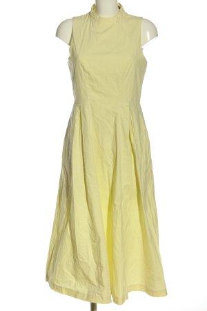 Armani Exchange Robe mi-longue jaune primevère élégant