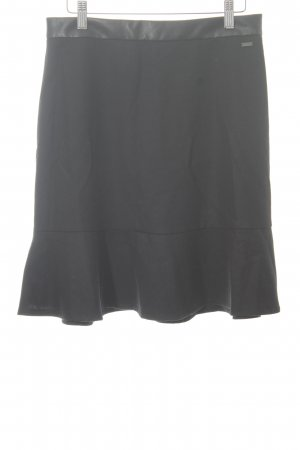 Armani Exchange Miniskirt black classic style