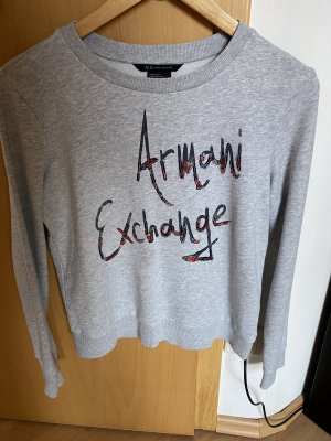 Armani Exchange Long Sweater light grey