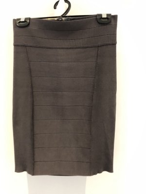 Armani Exchange Pencil Skirt silver-colored-grey
