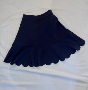 Armani Exchange Skater Skirt dark blue-blue