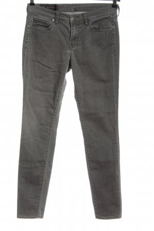 Armani Exchange Tube Jeans light grey casual look