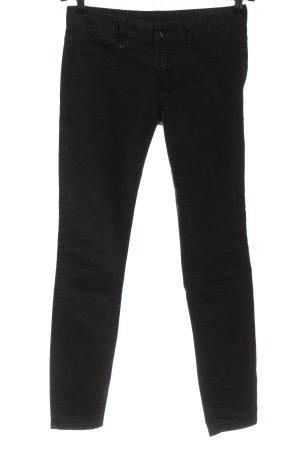 Armani Exchange Tube jeans zwart casual uitstraling