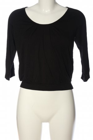 Armani Exchange Slip-over Blouse black casual look