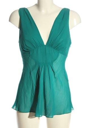 Armani Exchange Slip-over blouse groen casual uitstraling