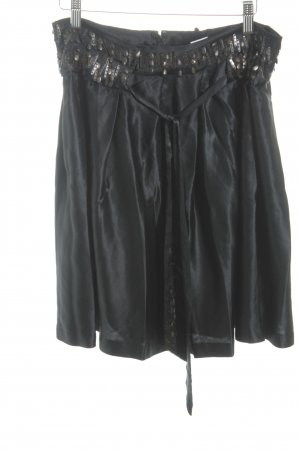 Armani Exchange Silk Skirt black elegant