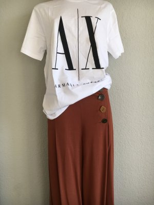 Armani Exchange T-shirt blanc-noir
