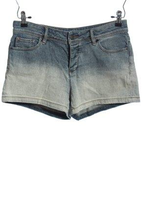 Armani Exchange Shorts blau Farbverlauf Casual-Look