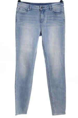 Armani Exchange Skinny Jeans blau Casual-Look