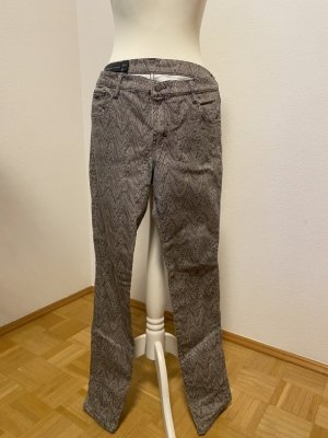 AX ARMANI EXCHANGE Skinny Jeans beige-black cotton