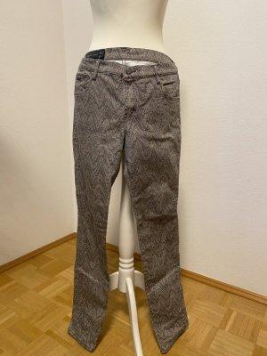 AX ARMANI EXCHANGE Jeans skinny beige-noir coton