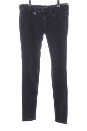 Armani Exchange Skinny Jeans black business style