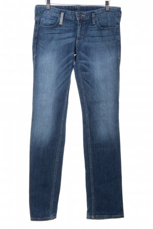 Armani Exchange Straight-Leg Jeans stahlblau Casual-Look