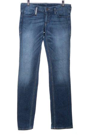 Armani Exchange Jeans coupe-droite bleu acier style décontracté