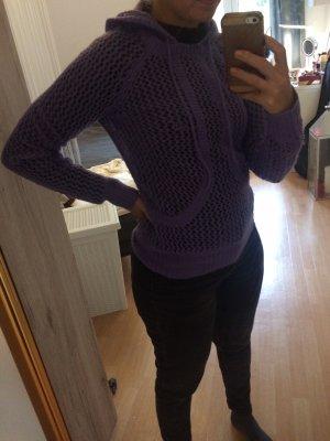 Armani Exchange Pull tricoté violet-lilas