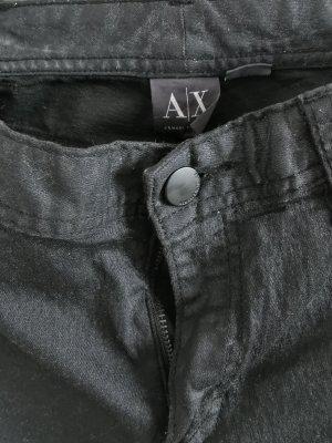 Armani Exchange Jeansy ze stretchu czarny-antracyt