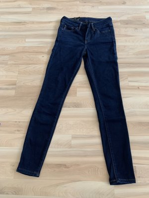 Armani Exchange Skinny Jeans dark blue cotton