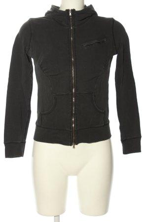 Armani Exchange Veste sweat noir style athlétique